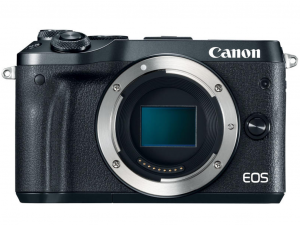 Canon EOS M6 fekete fényképezőgép váz