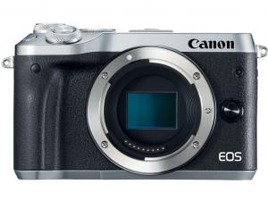 Canon EOS M6 ezüst fényképezőgép váz