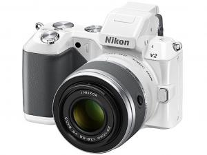 Nikon 1 V2 kit + 10-30mm VR fehér fényképezőgép