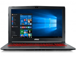 MSI GV62VR 7RF-1252HUR 9S7-16JBD2-1252 laptop