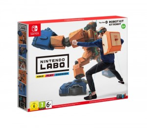 Nintendo Switch - LABO robot csomag