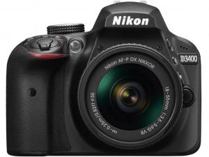 Nikon D3400 fényképezőgép +18-55mm AF-P DX VR