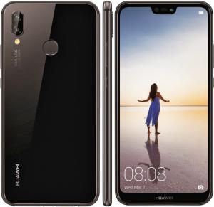 Huawei P20 Lite - Dual-SIM - 64GB - Fekete - Okostelefon