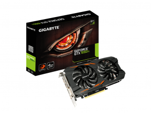 Gigabyte GeForce® GTX 1050 Ti Windforce 4G