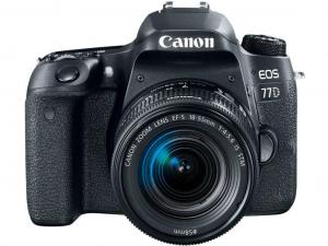 Canon EOS 77D váz + EF-S 18-55mm IS STM objektív