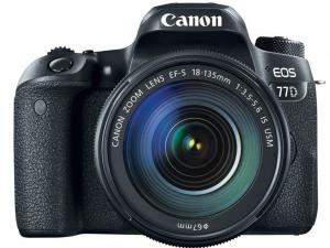 Canon EOS 77D váz + EF-S 18-135mm IS USM objektív