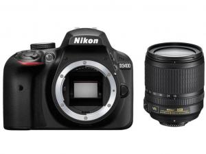 Nikon D3400 fekete fényképezőgép + 18-105mm AF-P VR Kit