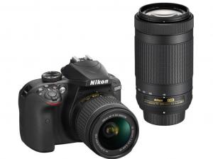Nikon D3400 + 18-55mm AF-P DX VR + AF-P 70-300 VR Kit
