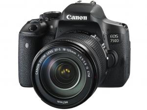 Canon EOS 750D váz + 18-135mm IS STM objektív