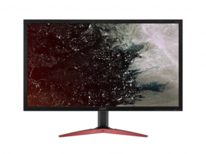 ACER LED MONITOR KG281KBMIIPX 28, UHD, 1MS, 330NITS, HDMI, DP, MM, FEKETE