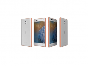 Nokia 3 Dual-SIM - Bronz - Okostelefon