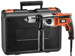 Black & Decker KR7532K-QS 750W kétsebességes ütvefúró kofferben