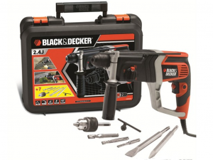 Black & Decker KD990KA-XK 850W 2,4J Pneumatikus fúrókalapács kofferben