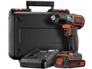 Black & Decker ASD18K-QW 18V Fúró/csavarozó Autosense™/Autoselect Technológiával kofferben