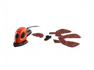 Black & Decker KA161-QS Mouse dekorcsiszoló + 9 tartozék