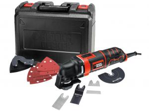 Black & Decker MT300KA-QS 300W Rezgőszerszám szerszám nélküli befogással tartozékokkal kofferben
