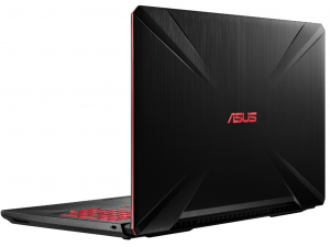 Asus FX504GE-DM041 15.6 FHD, Intel® Core™ i7 Processzor-8750H, 8GB, 1TB HDD, NVIDIA GeForce GTX 1050Ti - 4GB, Dos, fekete notebook