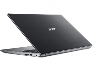 Acer Swift 3 SF315-41G-R3GH 15.6 FHD IPS - AMD Ryzen 3 2200U Dual-Core™ 2.50 GHz - 8 GB DDR4 SDRAM - 1 TB HDD - 128 GB SSD - AMD Radeon RX 540 with 2 GB GDDR5 - Linux, szürke notebook