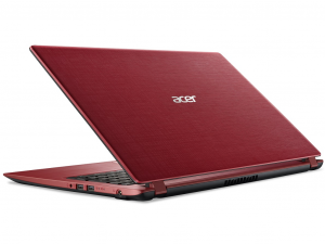 Acer Aspire A315-51-32QZ 15.6 HD, Intel® Core™ i3 Processzor-7020U, 4GB, 500GB HDD, linux, piros notebook
