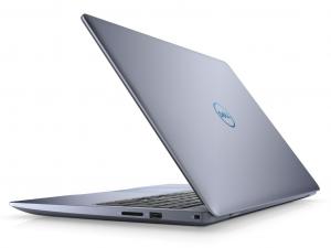 DELL INSPIRON G3 3579 15.6 FHD IPS, Intel® Core™ i7 Processzor 8750H Hexa Core, 8GB, 1TB HDD + 128GB SSD, Nvidia GTX 1050Ti 4GB GDDR5, ujjlenyomatolvasó, háttérvilágításos bill., linux, kék notebook