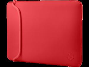 HP 15.6 Sleeve Fekete/Piros notebook tok