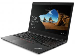 LENOVO THINKPAD T480S, 14.0 WQHD, Intel® Core™ i7 Processzor-8550U, 16GB, 1TB SSD, WWAN, WIN10 PRO, Fekete notebook