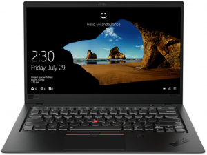 Lenovo Thinkpad X1 Carbon 6 14 FHD Touch, Intel® Core™ i7 Processzor-8550U, 16GB, 256GB SSD, WWAN, Win10P, fekete notebook