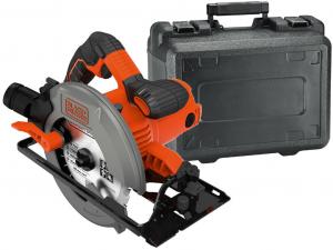 Black & Decker CS1550K-QS 1500W, 66mm Lézeres körfűrész kofferben
