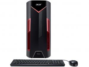 Acer Nitro N50-600 Intel® Core™ i7 Processzor-8700K, 16GB, 1TB HDD + 256GB SSD, NVIDIA GeForce GTX 1060 - 6GB, DVD, Win10, fekete