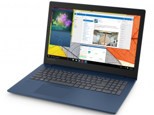 Lenovo Ideapad 330 81D100AEHV 15.6 HD, Intel® Dual Core™ N4000, 4GB, 128GB SSD, Dos, sötétkék notebook