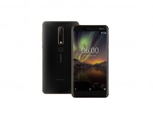Nokia 6.1 Dual Sim 32GB LTE Black/Copper - Okostelefon