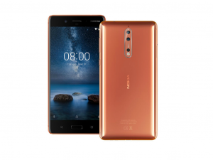 Nokia 8 64GB LTE Copper - Okostelefon