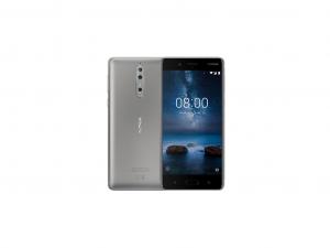 Nokia 8 Dual Sim 64GB LTE Steel - Okostelefon
