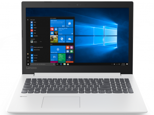 Lenovo Ideapad 330-15IKB 81DE00XBHV 15.6 FHD, Intel® Core™ i3 Processzor-7020U, 4GB, 1TB HDD, NVIDIA GeForce MX150 - 2GB, Win10, fehér notebook