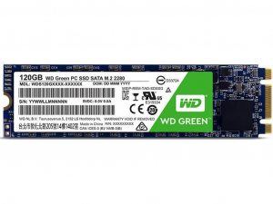 Western Digital M.2 Green - 120GB - SSD WDS120G2G0B