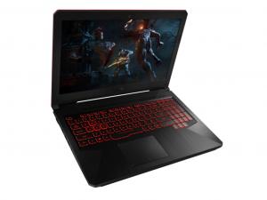 ASUS ROG TUF FX504GD-DM708 15,6 FHD/Intel® Core™ i7 Processzor-8750H/8GB/256GB+1TB/GTX 1050 OC 4GB/linux/fekete laptop