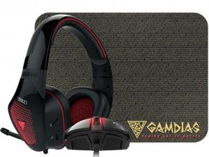 Gamdias Artemis E1 Gaming combo - Zeus E2 + EROS E1 + NYX E1