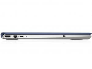 HP Pavilion 15-CS0011NH 15.6 FHD, Intel® Core™ i5 Processzor-8250U, 8GB, 1TB HDD + 128GB SSD, NVIDIA GeForce MX150 - 2GB, Dos, kék notebook