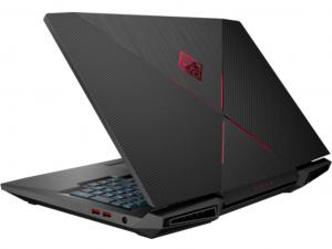 HP Omen 17-an100nh 17.3 FHD, Intel® Core™ i7 Processzor-8750H, 16GB, 2TB HDD + 256GB SSD, NVIDIA GeForce GTX 1070 - 8GB, Win10H, fekete notebook