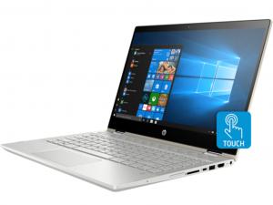 HP Pavilion x360 14-CD0005NH 14 FHD Touch, Intel® Core™ i5 Processzor-8250U, 8GB, 1TB HDD + 128GB SSD, Win10, arany notebook