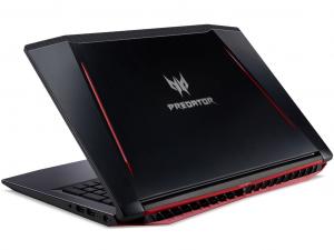 Acer Predator Helios PH315-51-749A notebook - Intel® Core™ i7-8750H - 8GB DDR4 - 1TB HDD - NVIDIA® GeForce® GTX 1060 6GB - Linux - fekete