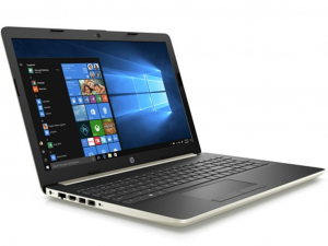 HP 15-DA0034NH 15.6 FHD, Intel® Core™ i3 Processzor-7020U, 8GB, 256GB SSD, Dos, arany színű notebook
