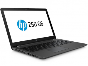 HP 250 G6 3VK28EA 15.6 HD, Intel® Core™ i3 Processzor-7020U, 4GB, 256GB SSD, Dos, sötétszürke notebook