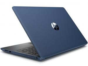 HP 15-DA0040NH 15.6 FHD IPS, Intel® Core™ i5 Processzor-8250U, 8GB, 1TB HDD + 128GB SSD, NVIDIA GeForce MX130 - 4GB, Dos, kék notebook