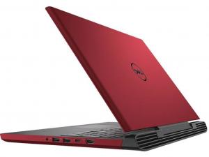 Dell G5 5587 15.6 FHD IPS, Intel® Core™ i5 Processzor-8300H, 8GB, 1TB HDD + 128GB SSD, NVIDIA GeForce GTX 1050 Ti - 4GB, ujjlenyomatolvasó, háttérvilágításos bill., win10H, piros notebook