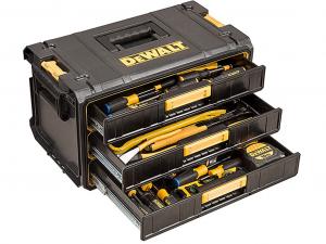 DeWALT DWST1-81055 Toughsystem 3 fiókos tároló