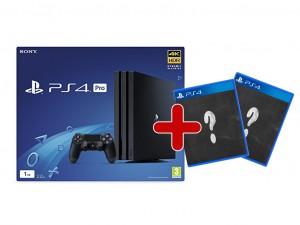 Sony Playstation 4 Pro (PS4) 1TB Játékkonzol + 2 választható játék!
