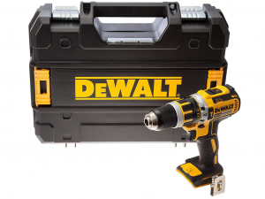 DeWALT DCD795NT-XJ 18V XR Li-Ion kefe nélküli kompakt ütvefúró-csavarozó kofferben - akku és töltő nélkül