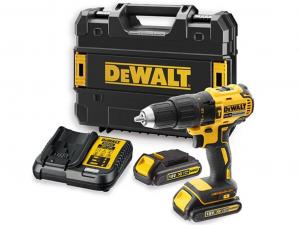 DeWALT DCD778S2T-QW 18V XR kefe nélküli kompakt ütvefúró-csavarozó készletben +Ajándék övakasztó!!!