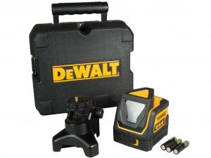 DeWALT DW0811-XJ Keresztszálas 360° vonallézer kofferben